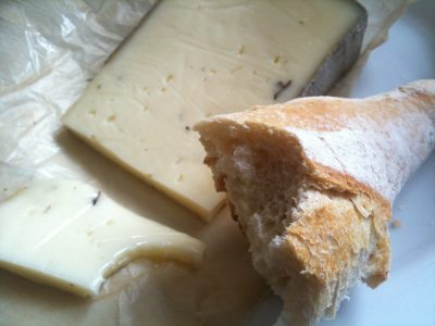 Trufar queso