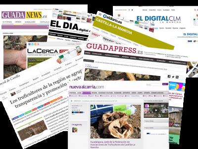 Noticia en la prensa de la región